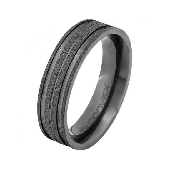 Anel/Aliança Aço Theos GTR 6mm U.IPO