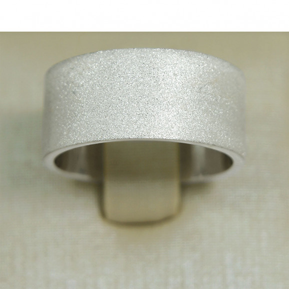 Anel Masculino em Prata 950 Liso
