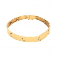 Bracelete Feminino em Ouro Amarelo 18K