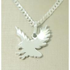 Pingente em Prata 950 Águia
