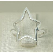Anel em Prata 950 Estrela