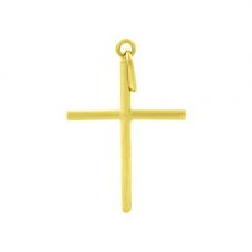 Pingente em Ouro Amarelo 18K Cruz